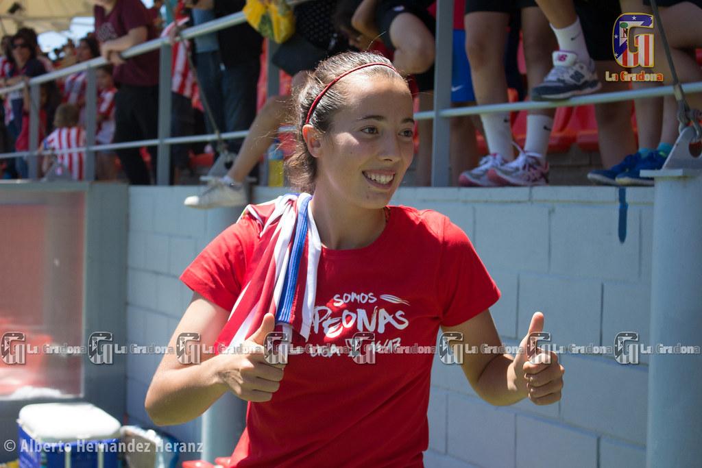 Atlético de Madrid Femenino, campeón de la Liga Iberdrola