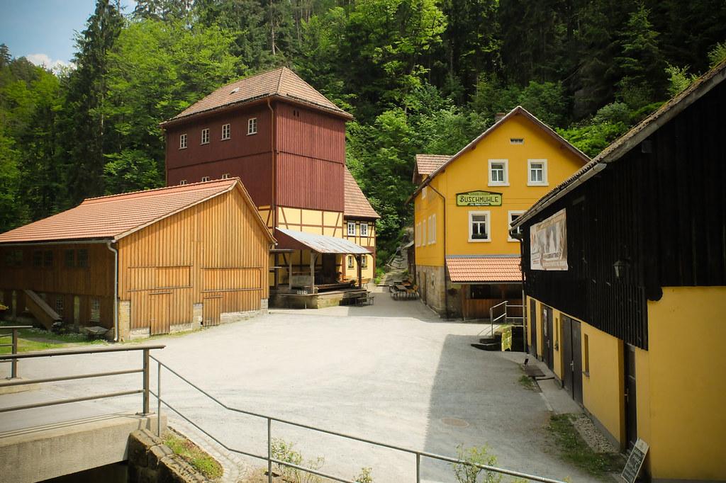 Goldsteig, Richtergrotte ud Weberschlüchte