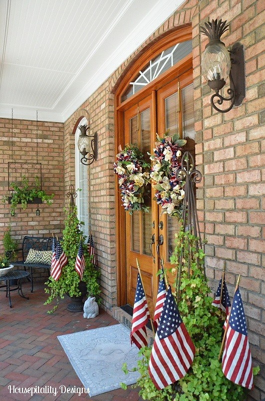 4th of July Porch-Housepitality Designs