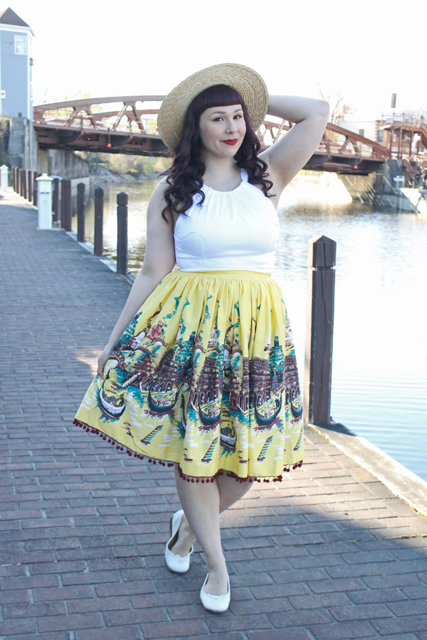 pinup girl clothing jenny skirt