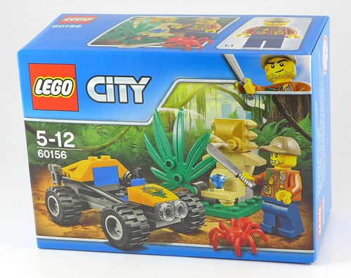 LEGO City 60156 Jungle Buggy box01