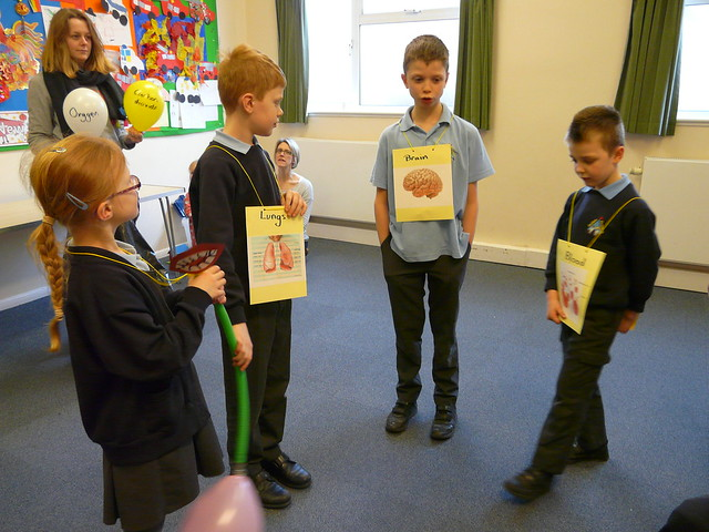 Body unity activity from chapter 5 of Messy Church Does Science