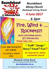 Messy Church at BUC - Pentecost 2017