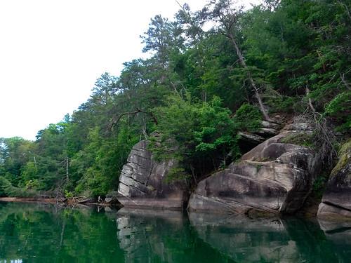 Lake Keowee and Estatoe Creek-62