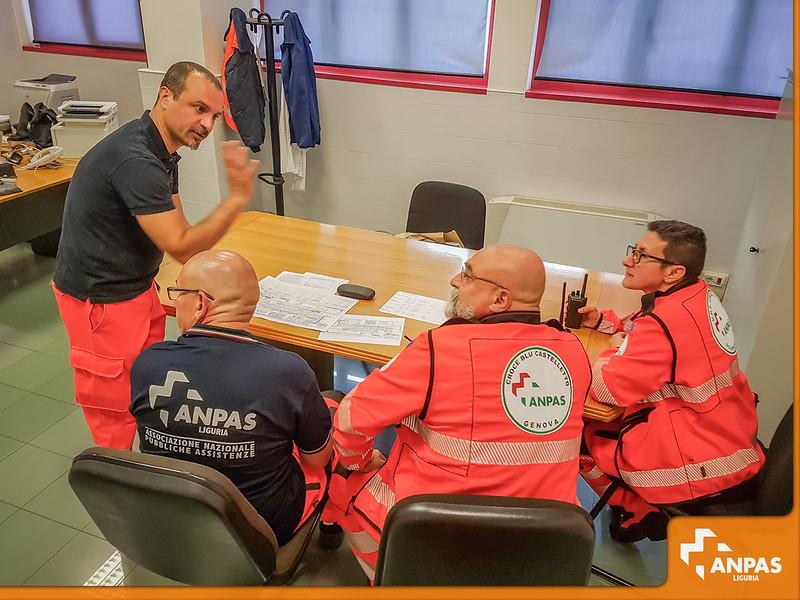 Assistenza sanitaria per la visita a Genova di Papa Francesco