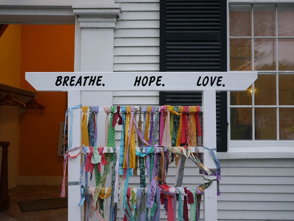 Breathe. Hope. Love.