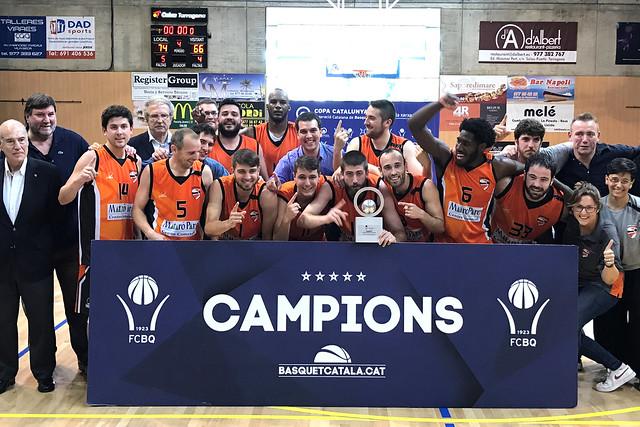 Final a Quatre Copa Catalunya Masculina 2016-17