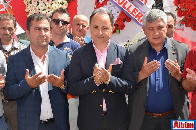 Büyükşehir Belediyesi Alanya Koordinatör Yardımcısı Nurettin Uludağ da açılıştaydı