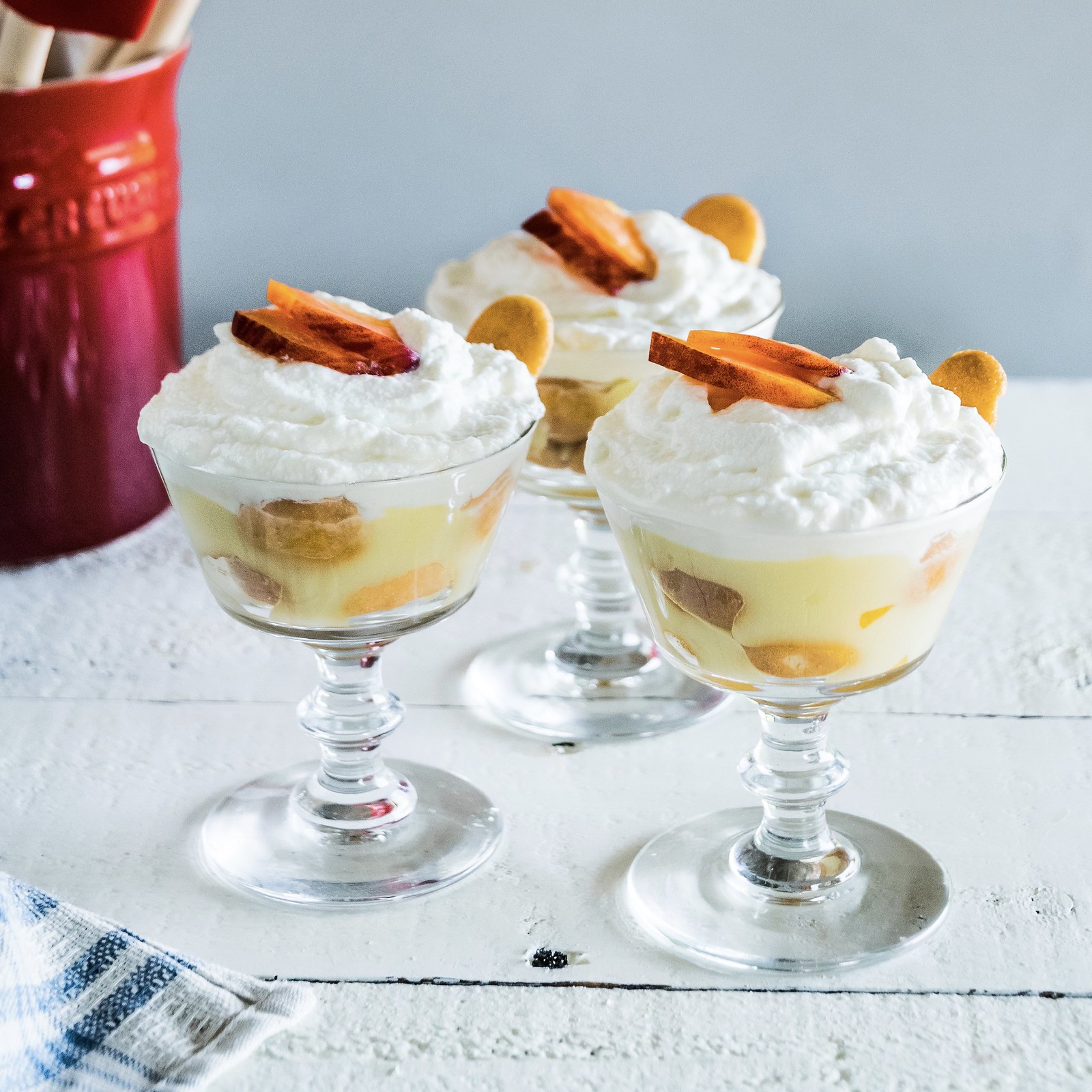 southern peach pudding