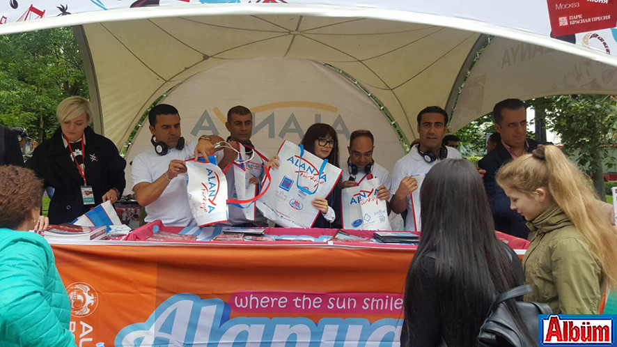 Moskova Krasnaya Presnya Parkı Türkiye Festivali3