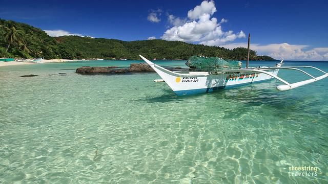 fishing boat at Tiamban Beach
