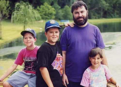 Josiah, Caleb, Dad & Bethany