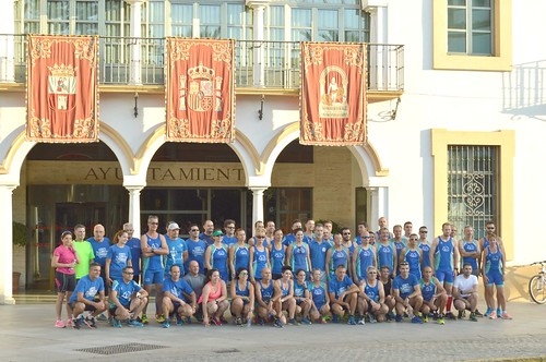 Entrenamiento Club Atletismo Orippo Carrera Nocturna