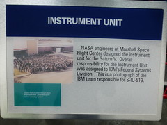 IBM Team responsible for the Saturn V Instrument Unit