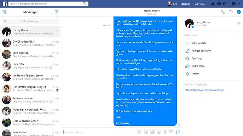 henny havmo facebook 3
