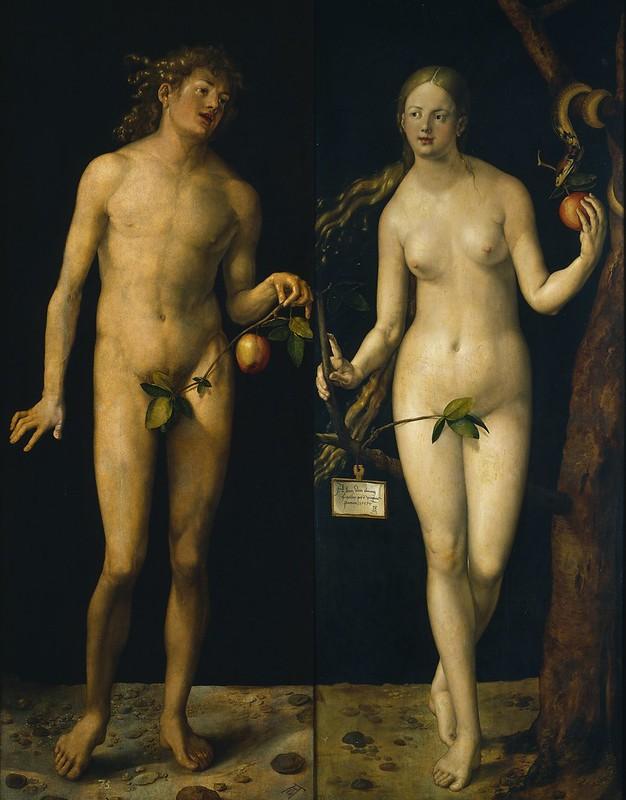 Albrecht Dürer - Adam and Eve (1507)