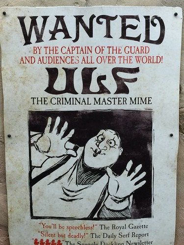 "Ulf ""Wanted"" Poster 