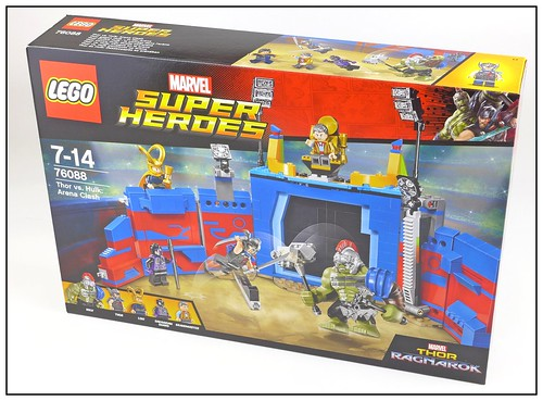 LEGO Marvel Super Heroes 76088 Thor vs. Hulk Arena Clash box01