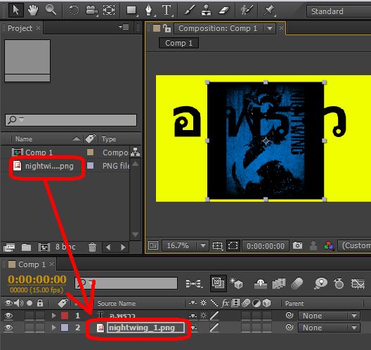 สอนวิธีการใส่วิดิโอลงในตัวหนังสือ ด้วย Adobe After Effects