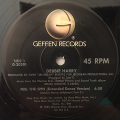 DEBBIE HURRY:FEEL THE SPIN(LABEL SIDE-A)