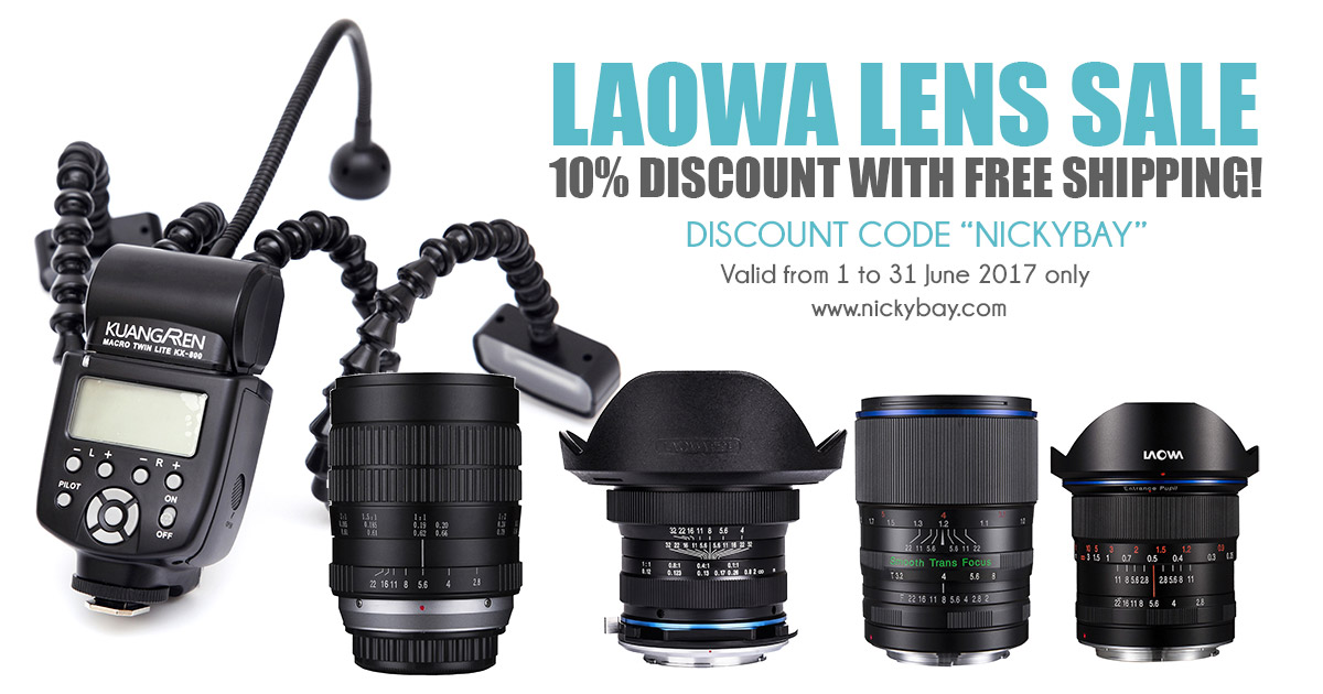 Venus Optics Laowa Lens Sale with Free Shipping