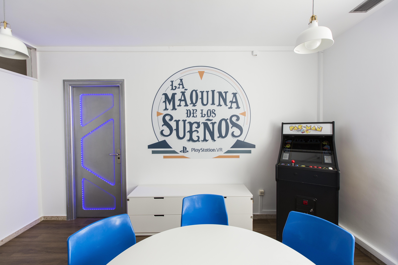 'La Máquina de los Sueños', el primer espacio de realidad virtual ubicado en un hospital español