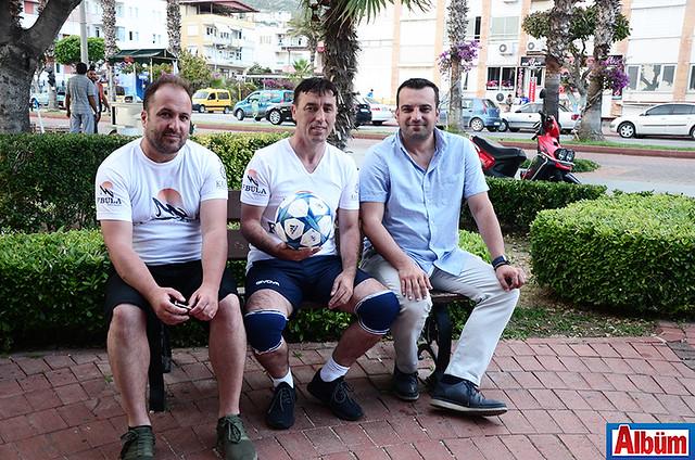 Film Yapımcısı Burim Haliti, Agim Agushi, Mehmet Erken