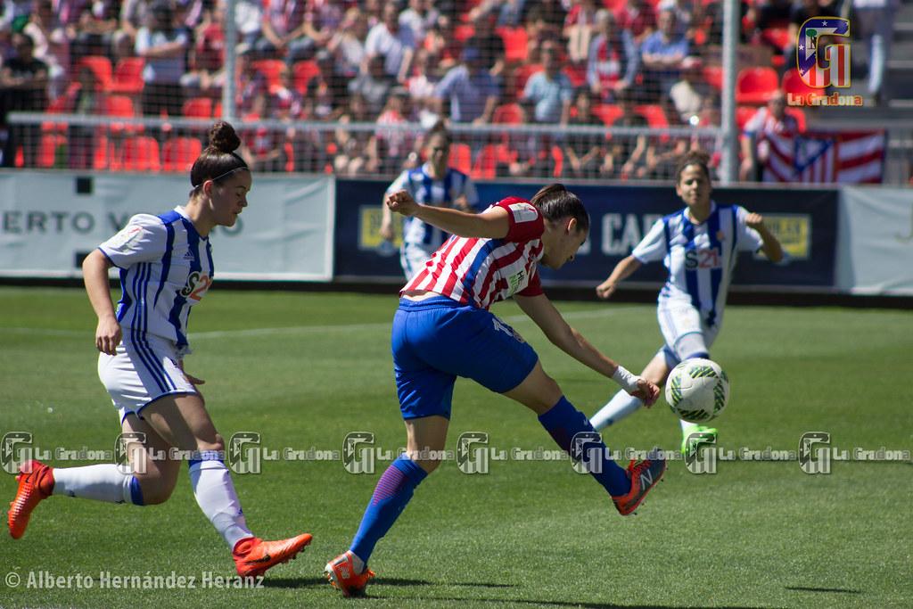 Atlético de Madrid Femenino - Real Sociedad Femenino: victoria y campeonato