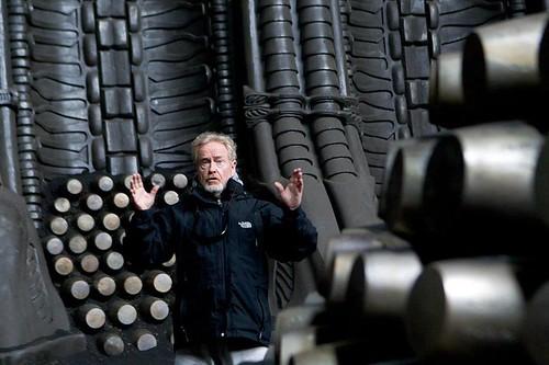 Prometheus - Backstage - Ridley Scott - directing - 2