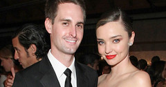Miranda Kerr marries Snapchat billionaire Evan Spiegel