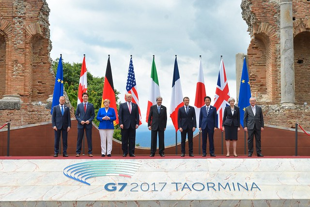 photo of G7 summit 2017