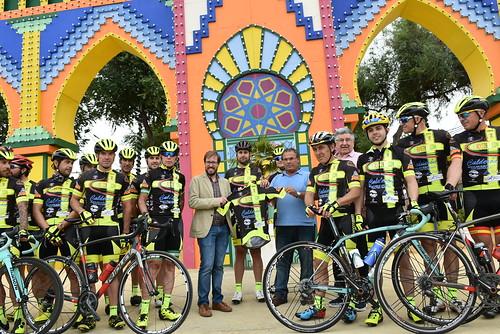 Presentación del equipo ciclista Scirocco Bike-Calderón