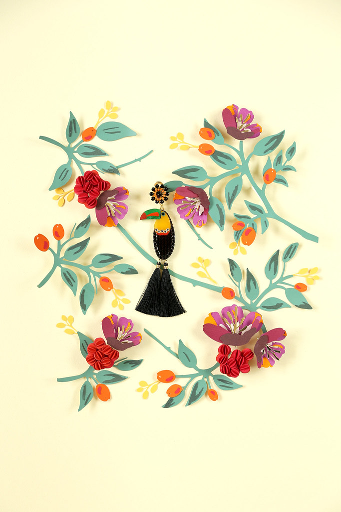 A collaboration I did for Colombian jewelry designer Merce Flickr