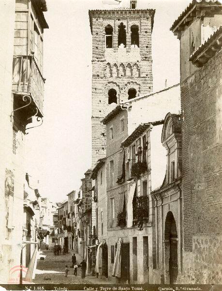 Torre de Santo Tomé en 1897 por Rafael Garzón