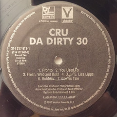 CRU:DA DIRTY 30(LABEL SIDE-C)