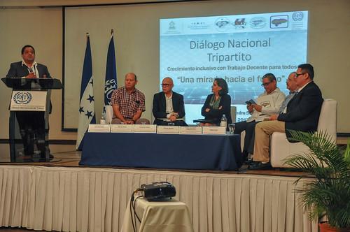 Foro Diálogo Nacional Tripartito HONDURAS