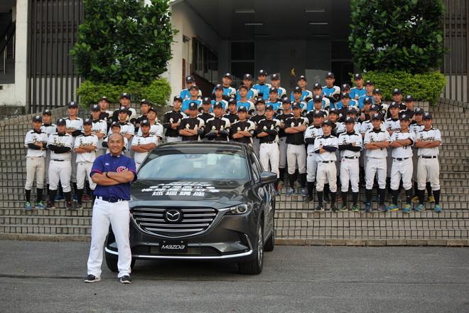 【MAZDA新聞照片】台灣馬自達與張泰山選手共同貢獻台灣基層棒球運動