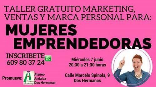Taller de emprendimiento para mujeres en Ateneo Andaluz