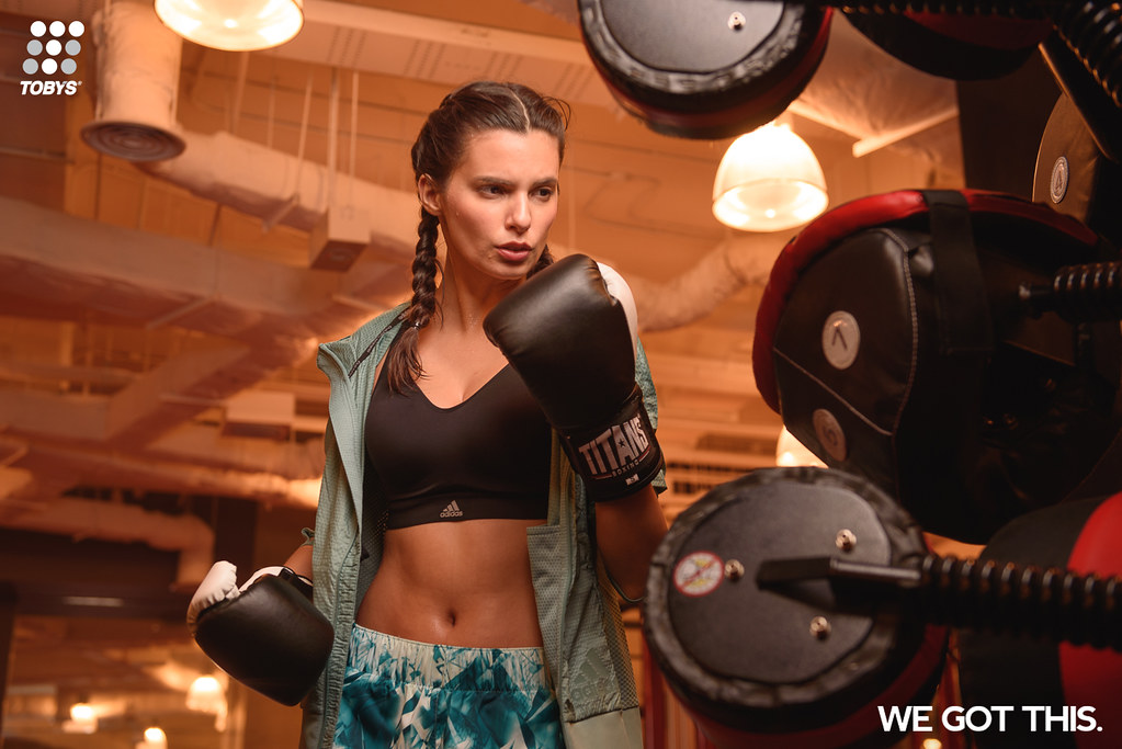 "Boxing is one of the most tedious sports, but Toby's Sports ""We Got This"" campaign encourages boxers, athletes, and every individual out there to pursue a healthy and active lifestyle no matter how exhausting it can be."