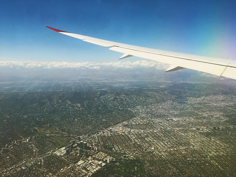 Cruising over the USA