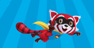 Flame, the Red Panda, is our VBC sidekick