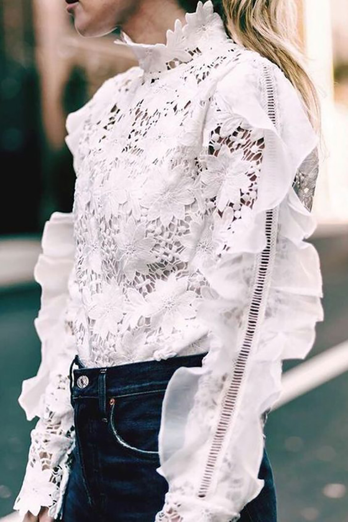 how to wear ruffles summer 2017 street style outfits fashion trend6