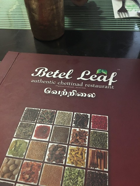 Farewell Lunch @ Betel Leaf