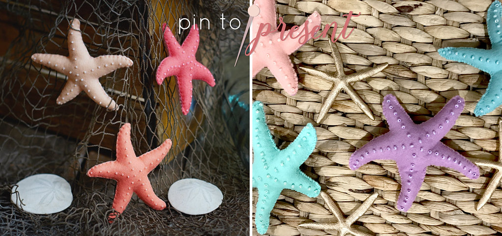 pin to present starfish inspiration