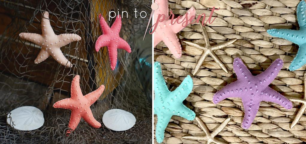 pin to present starfish inspiration