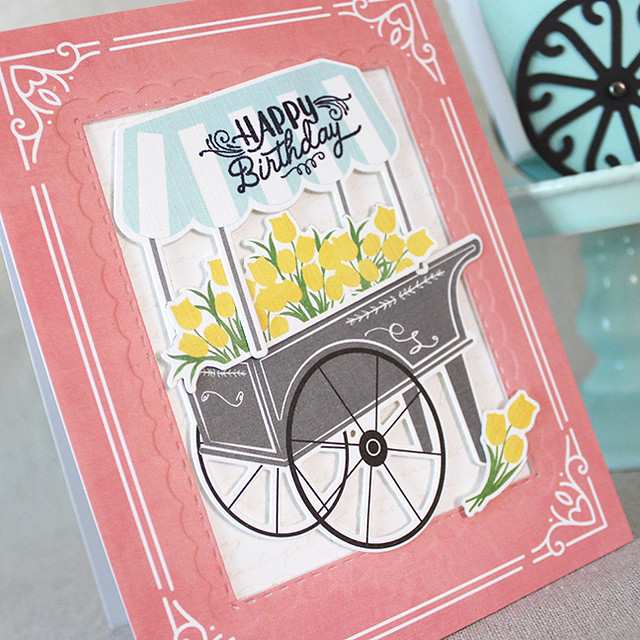 Spring Market Birthday Card 2