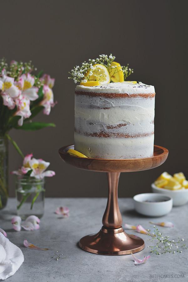 lemon layer cake // bethcakes.com