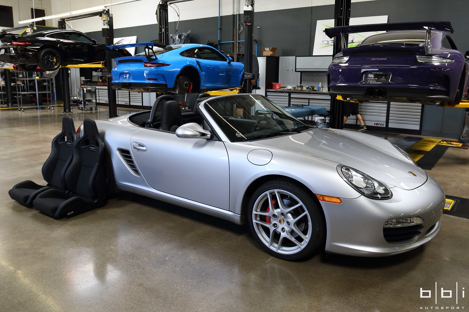 Porsche 987 2 Boxster Recaro Sportster Cs Seat Install