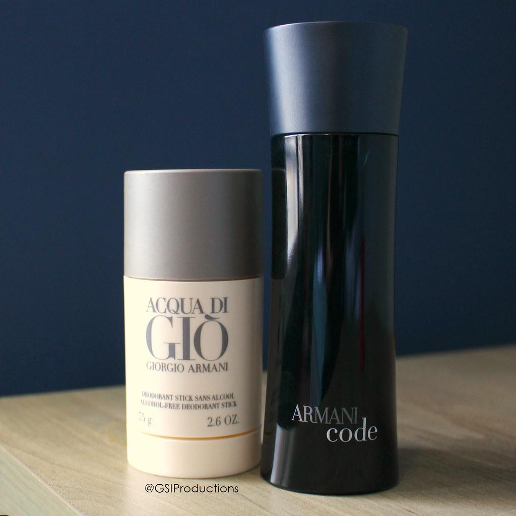 Giorgio Armani Code & Acqua Di Gio Deodorant