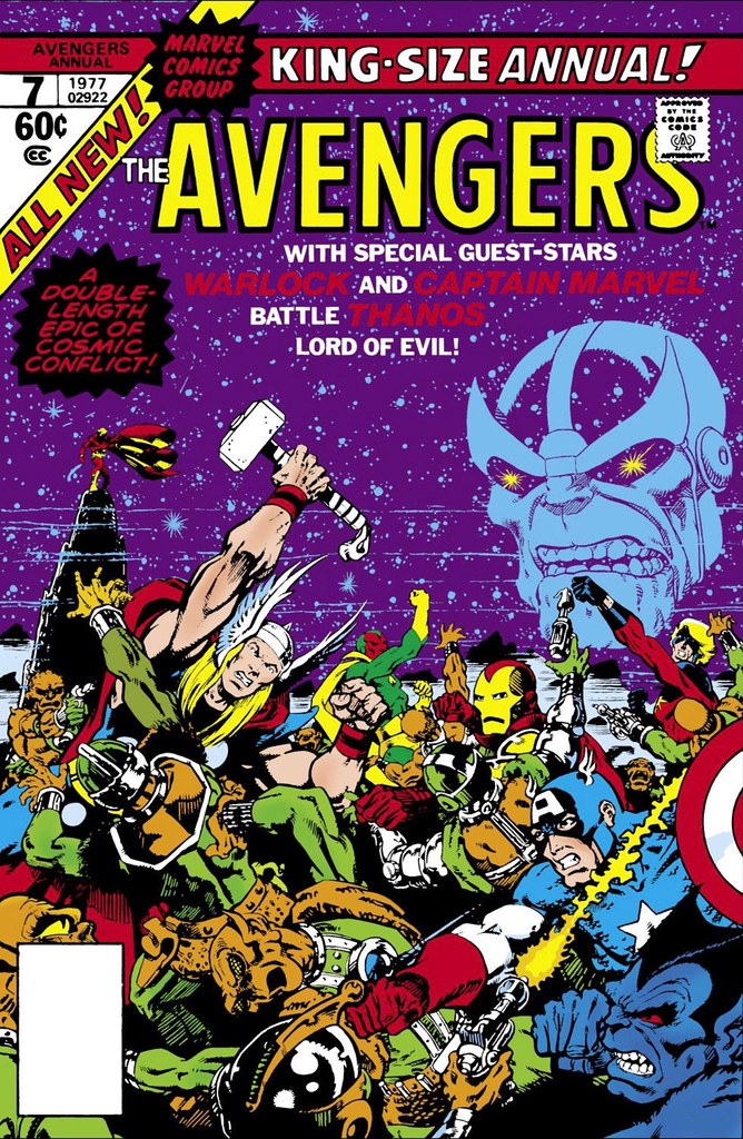 Avengers Annual 7 Starlin cover